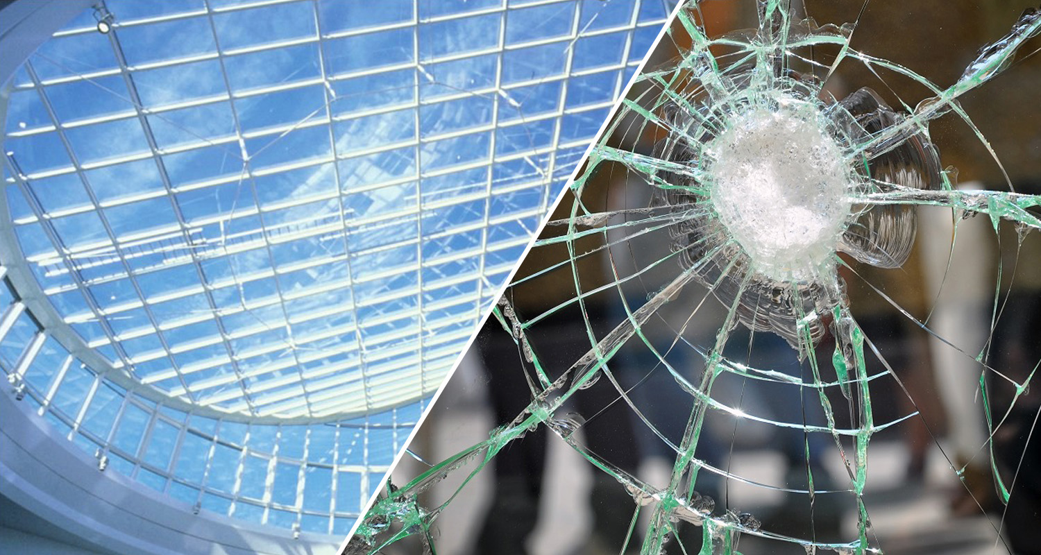 Securing certified with glass windows