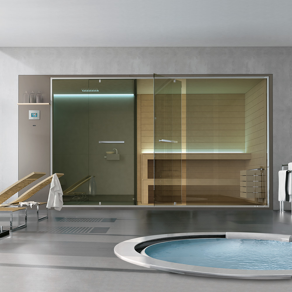 Design Turkish bath and Hammam in private spaces