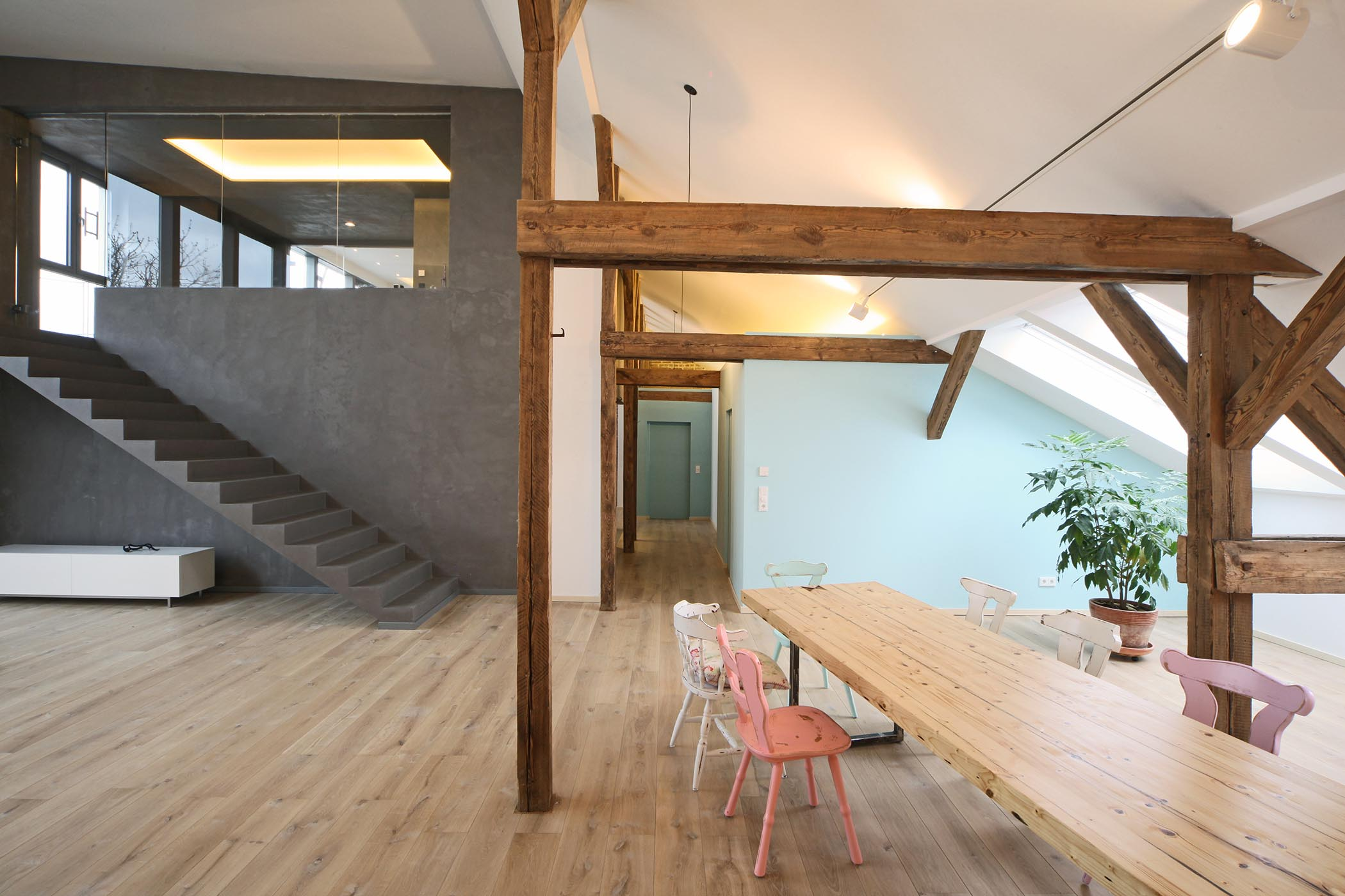 Old house renovated in Berlin